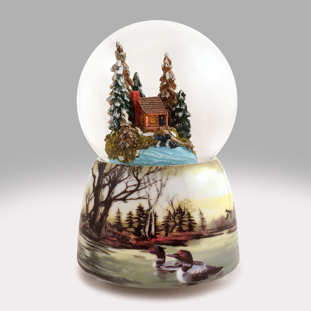 Unique Christmas Snow Globes