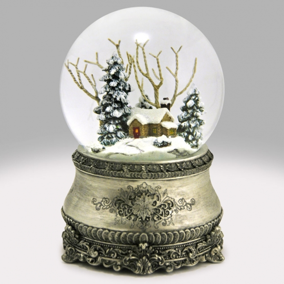 A Christmas Snow.Home For Christmas Snow Globe
