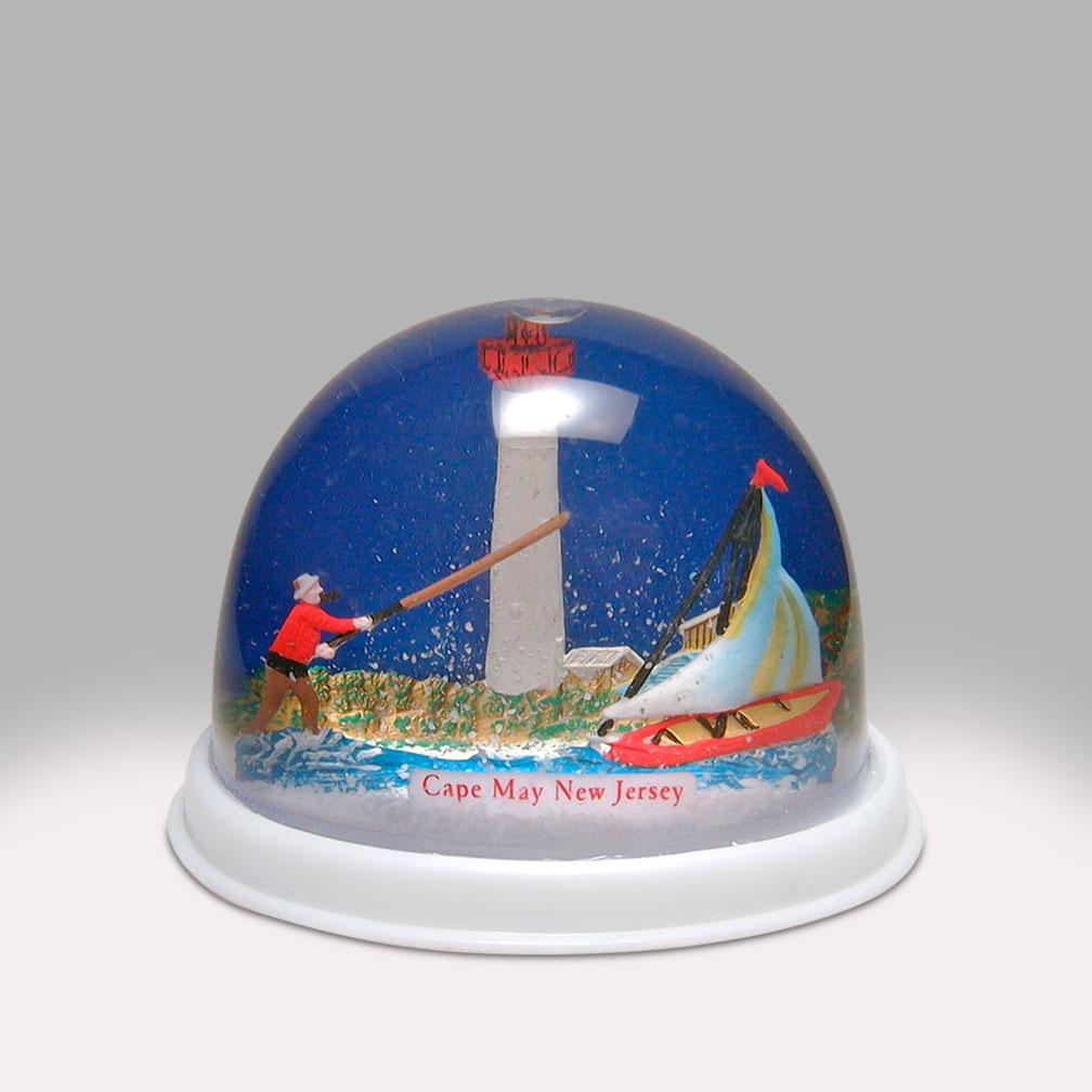 Unique Christmas Snow Globes